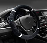 #8: NIKAVI Silk Steering Cover (Black)