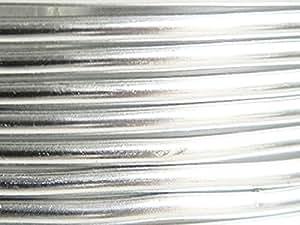 5 Mètres fil aluminium argent 4mm Oasis ®