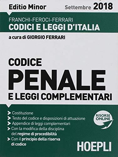 Codice penale e leggi complementari. Ediz. minore