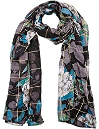 Desigual Women's Foulard_rectangle Troy Winter Scarve