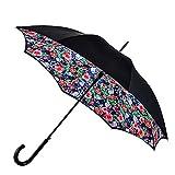 Fulton Bloomsbury Rosengarten-Doppel-Baldachin-Regenschirm