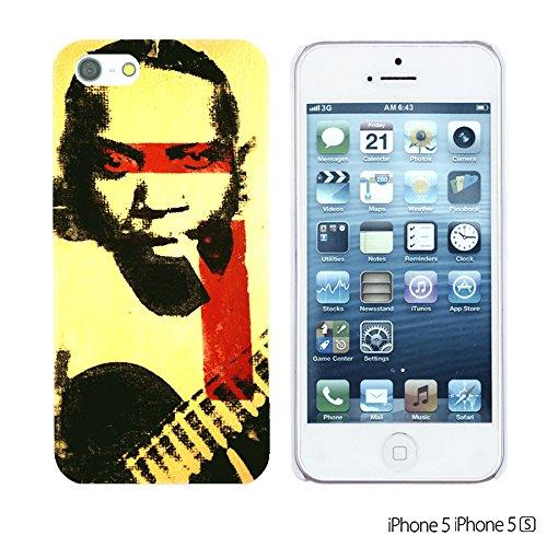 OBiDi - Celebrity Star Hard Back Case / Housse pour Apple iPhone SE / Apple iPhone 5S / 5 - Beautiful Queen Elizabeth II Robert Johnson Pop Art