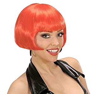 Valentina - Red Wig for Hair Accessory Fancy Dress