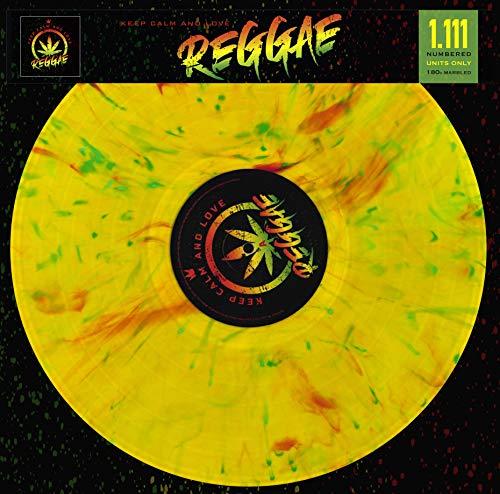 Keep Calm And Love Reggae - Limitiert und nummeriert (1111 Stück) 180 Gr Marbled Vinyl [Vinyl LP]