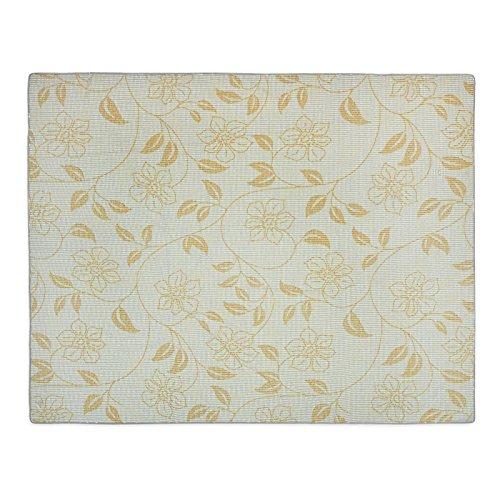 Nappe rectangulaire anti tache casa pura® tissu imperméable | lavable | interieur ou extérieur | Bianca - blanche, 130x160cm