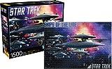 Aquarius Star trek- Schiffe der Line 1500PC Puzzle