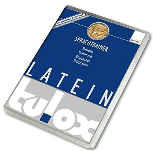 tulox Sprachtrainer PC Latein - Vokabeltrainer, Konjugations- und Grammatiktrainer mit großem vertontem E-Wörterbuch (Wörterbuch Software)