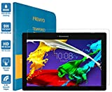 PREMYO Verre Trempé Film Protection Écran Compatible avec Lenovo Tab 2 A10-70 Dureté 9H Bords 2,5D Anti-Rayures sans Bulles Résistant