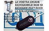 G.M. Production – 1502 – Botón para llave de coche Fiat, Lancia, Alfa, Citroen/Opel mando a distancia con plegable Clave [comprueba la foto y los datos sobre compatibilidad]
