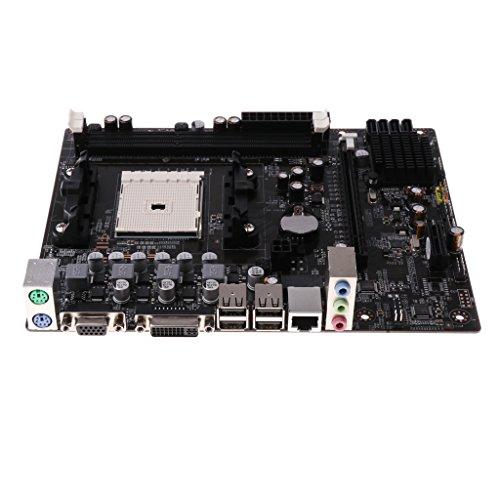 H HILABEE 1 Stü DDR3 16G Desktop Motherboard A55 CPU Sockel FM1 Dual Channel Speicher -