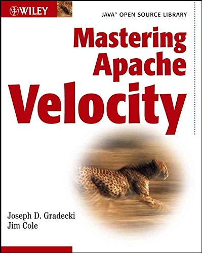[(Mastering Apache Velocity)] [By (author) J.D. Gradecki ] published on (August, 2003)