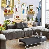 Décoration Chambre à Coucher Décor 3D Personnalisé Photo Fonds D'écran Modernes Murs Européens Peintures Murales Fleurs Nature Paysage pour Salon Chambre Décor À La Maison Papiers Peints-250 X 200CM