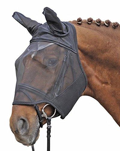 HKM 40739100 Fliegenschutzmaske, S, schwarz (Pony)