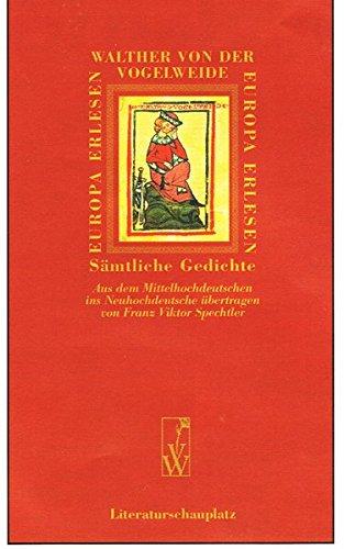 Sämtliche Gedichte (Europa Erlesen Mittelalter)
