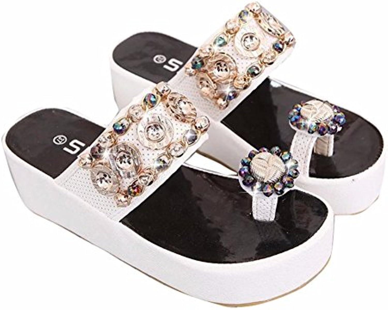 YUCH La Plage de   Shoes Shoes   s Antiglisse Mousse D'ÉtéB07CGMZ9GBParent 729884