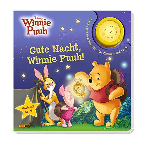 Disney Winnie Puuh: Gute Nacht, Winnie Puuh!: Pappbilderbuch mit Licht