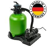 SL247 Sandfilteranlage für Pool bis ca. 40m³ Poolfilter Schwimmbadpumpe 8,0 m³/h Umwälzleistung Filterkessel Made in Germany