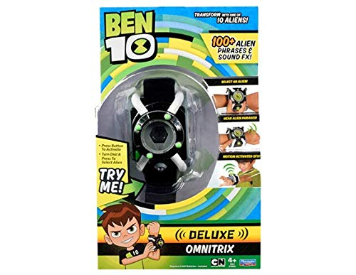 Ben 10Deluxe Omnitrix Uhr (englische Version)