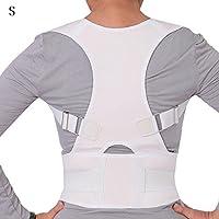 Poetryer Haltungskorrektur Bauch Rückenstützgürtel mit Verstellbare Schulter Band für Damen und Herren Gegen Nacken... preisvergleich bei billige-tabletten.eu