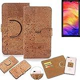K-S-Trade® 360° Cover Cork Case For Xiaomi Redmi Note 7
