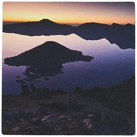 3dRose Wizard Island, Crater Lake Park, Oregon, USA, Us38 Wsu0168,