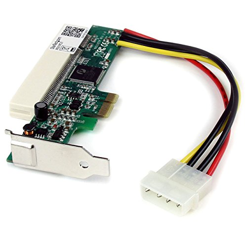 Startech PEX1PCI1 - Adaptador PCI Express para PCI (Alcance de temperatura operativa: 0-85 °C, Interfaz de host PCIe), rojo