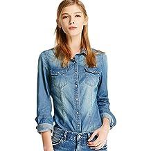 Amazon.it: camicia donna jeans