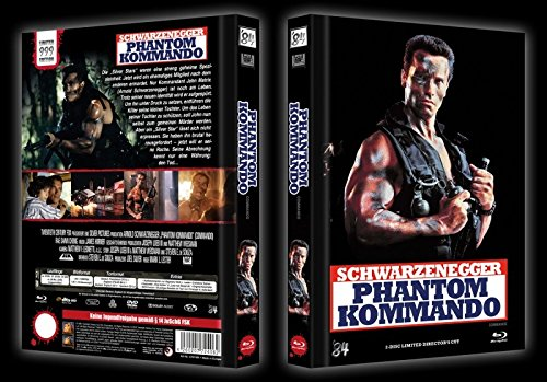 Phantom Kommando - Mediabook - Cover A - (Blu Ray+DVD)