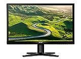 Acer G227HQLAbid 55 cm (21,5 Zoll) Monitor (VGA, DVI, HDMI, Full HD, 4 ms Reaktionszeit, EEK A) schwarz
