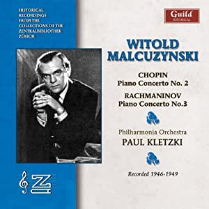 Piano Concerto 2/Piano Concerto 3 (Kletzki, Malcuzynski)
