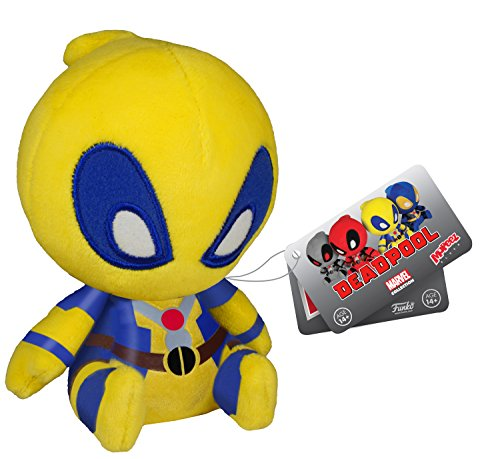 Deadpool Yellow X-Men Plush - Marvel Mopeez - 11cm 4.5""