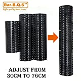92380 (3pack) Universal BBQ Gas Grill Replacement Porclain Steel Heat Plate/Cover for Master Forge, Perfect Flame, Uniflame, Lowes and Other Model Grills OEM / ODM (3) (3)