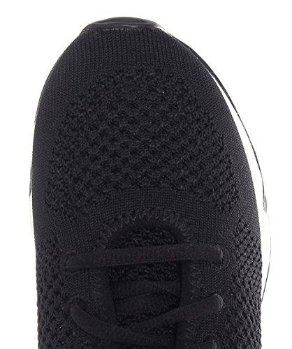 Ash Scarpe Lucky Knit Sneaker Donna Nero