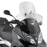 Cúpula Moto Piaggio MP3 sport 300/ LT 12-14 Givi Airflow ajustable