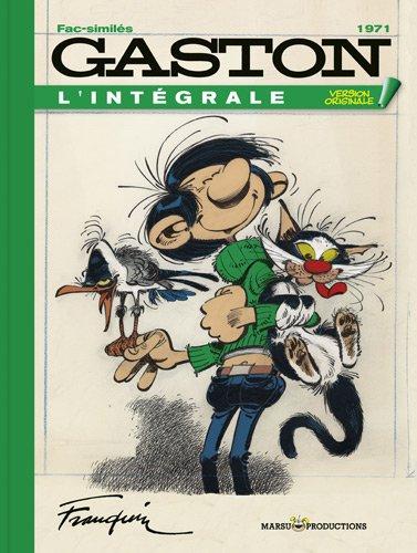 Gaston L'intégrale Fac Similé Tome 11 : Année 1971