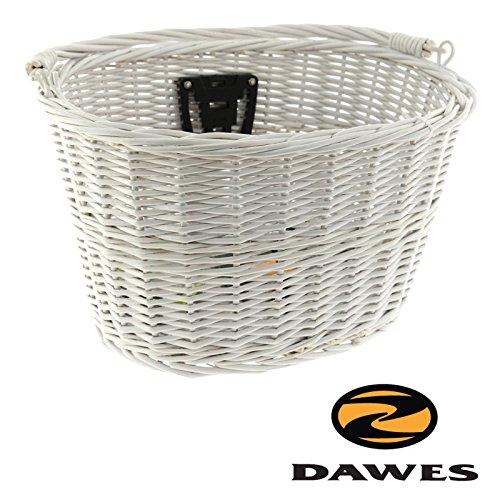 Dawes Heritage Wicker Bike Basket - White Heritage Basket