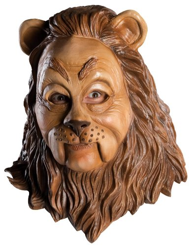 Wizard Of Oz Deluxe Cowardly Lion Latex Costume (Maske Deluxe Lion)