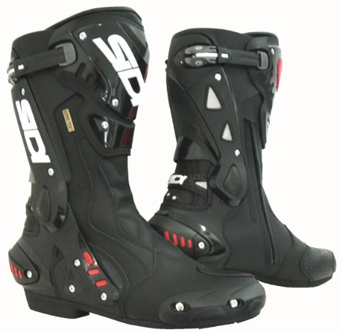 Sidi ST Gore Motorbike Waterproof Motorcycle Scooter Sports Racing Boots - Black - Black - EC 41