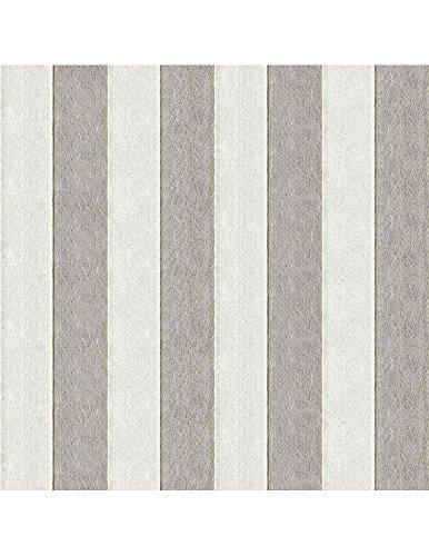 Polsterstoff Möbelstoff Bezugsstoff Meterware für Stühle, Eckbänke, etc. - Magic Design Grau Gestreift Baumwolle Schwer entflammbar- Muster