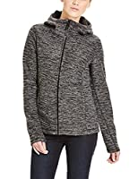 Bench Women's Furthermost Cardigan, Black-Schwarz (Black BK014-WH001), Small