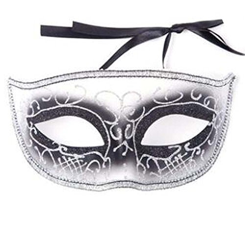 Halloween Maske Kinder Spielzeug Maskerade Kostüm Kinder Maske Handgefertigt (16.5x8 cm) (Masken Zum Verkauf Weiße)