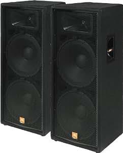 enceinte passive jbl jrx125 2 x 15 500 w aes 4 ohms bois instruments de musique. Black Bedroom Furniture Sets. Home Design Ideas