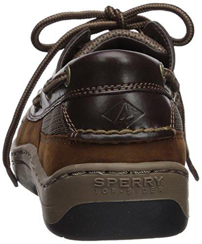 Sperry Top-Sider Mens Tarpon 2-Eye Boat Shoe Brown/Buc Brown