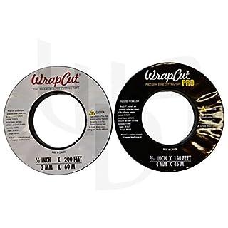 WrapCut Tape 60 Meter + WrapCut Pro 45 Meter je 1 Rolle Cutting/Schneidetape