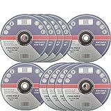 15 Stück Inox Trennscheiben 230 mm x 2 mm für Winkelschleifer Flexscheiben Edelstahl Metall