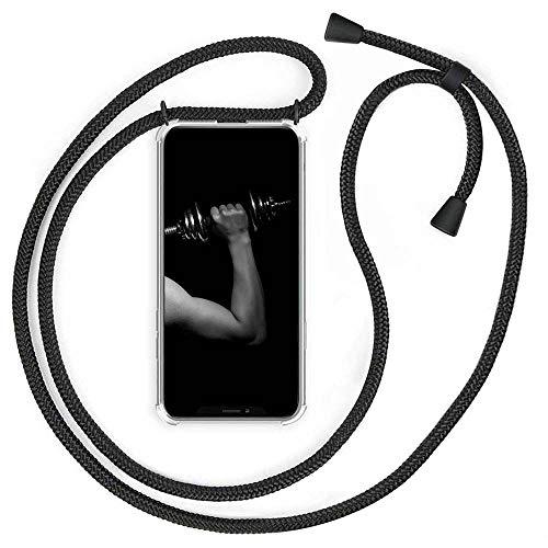 Handykette Kompatibel mit iPhone 11 Pro Max, Hülle mit Band Handykordel mit Schutzhülle Case - Pouch Bag mit mit 1.5m Verstellbarer Umhängeband Stylische Anhänger für Junge Männer und Frauen