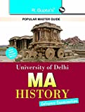 University of Delhi : MA History Entrance Exam Guide [Paperback] [Jan 01, 2016] RPH Editorial Board