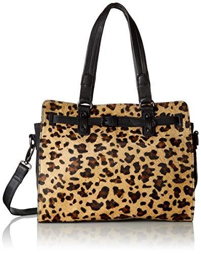 Leopard Fashion Tasche (Legend Damen Faenza Tote, Mehrfarbig (Black/Panther), 8x28x33 cm)