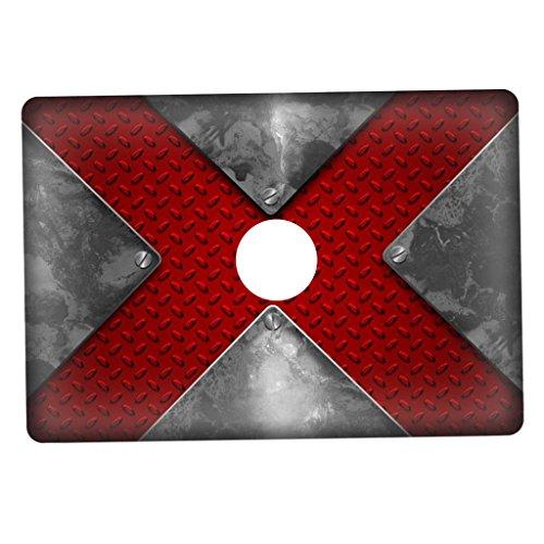 Sharplace Kreative Notebook Aufkleber Schutzfolie Skin Sticker für Apple MacBook Pro 13.3 '' (A1706/A1708) - Form 29 29 Formen