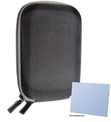 Hartschalentasche schwarz für Panasonic Lumix DMC-TZ61